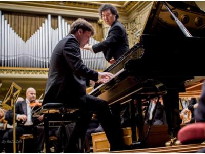 "Pianistul Mihai Ritivoiu, prim solist al Orchestrei Filarmonicii ""George Enescu"""