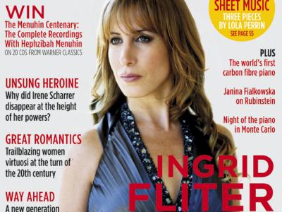 Ultimul număr al revistei International Piano, celebrează femeia pianist
