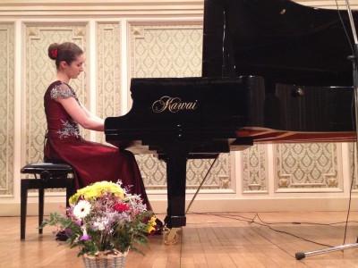 Pianista Sînziana Mircea - Despre succesul mondial