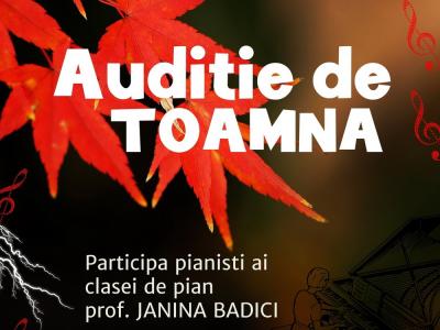 Auditie de Toamna