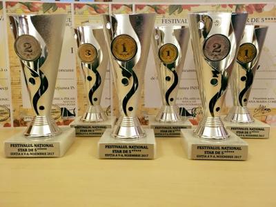 "13 premii la Festivalul National ""Star de 5 stele"""