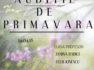 Auditie de Primavara