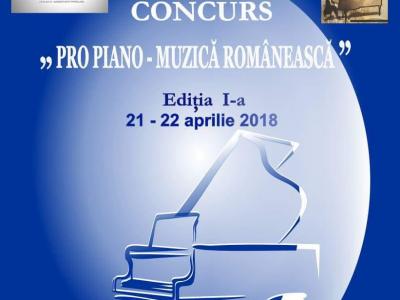 5 premii la editia I a Concursului Pro Piano - Muzica Romaneasca