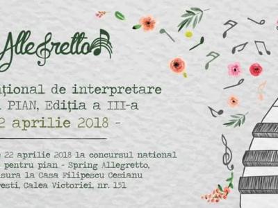 """12 premii la editia a III - a a Concursului """"Allegretto"""""""