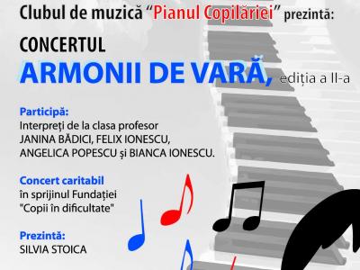 """Concertul """"Armonii de vara"""" - editia a II-a"""