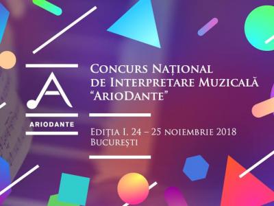 """7 premii la prima editie a Concursului """"Ariodante"""""""
