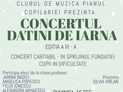 """Concertul """"Datini de iarna"""" - editia a 3 a"""