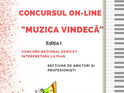 "REGULAMENT - CONCURS ON-LINE ""MUZICA VINDECA"""
