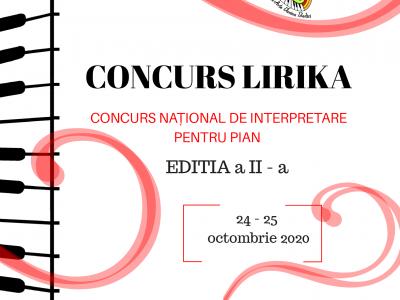 """Concurs """"LIRIKA"""" - editia a II - a"""