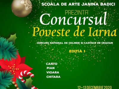 "Ordine Concurenti Sectiune Canto si Vioara - Concurs ""Poveste de Iarna"""