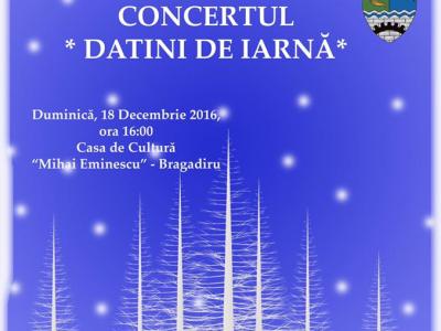 """Concertul """"Datini de iarna"""""""