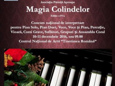 "Noi premii la Concursul ""Magia Colindelor"""
